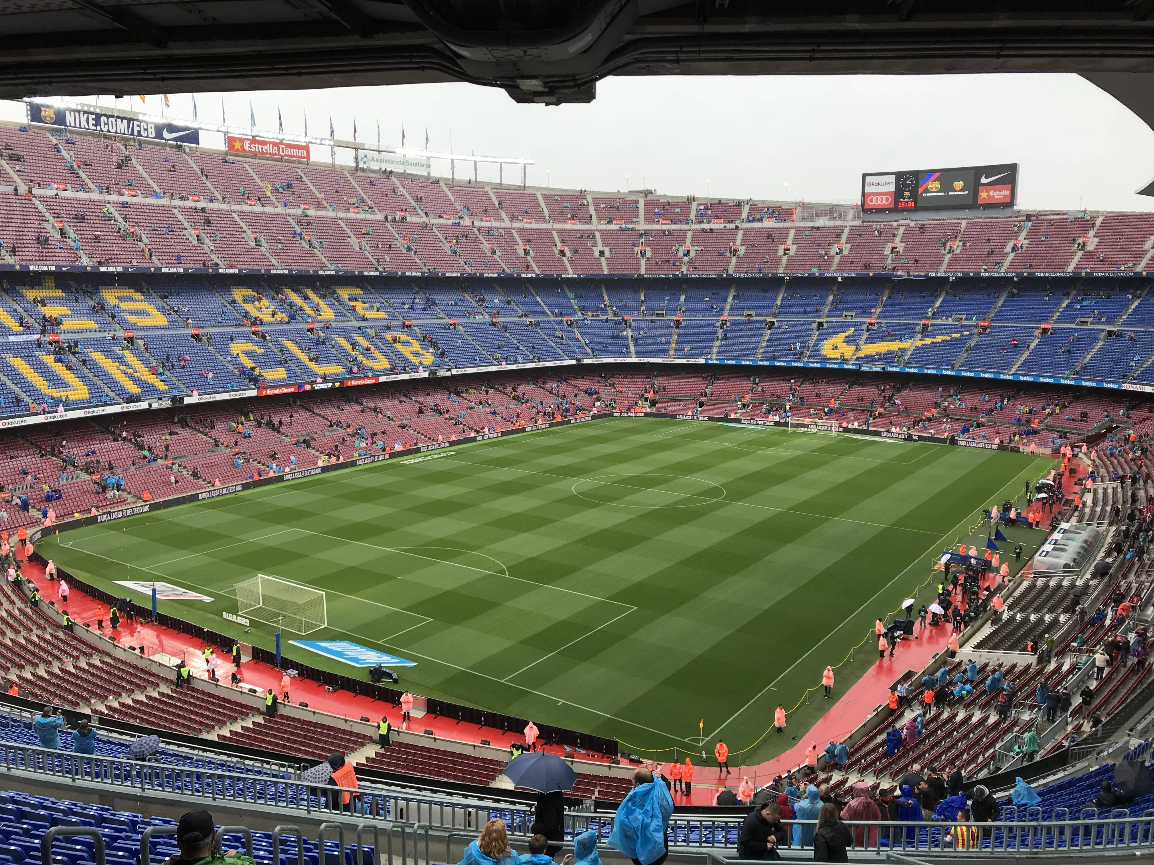 トラベルログ:ラ・リーガを体験する。Vol.1 FCバルセロナ