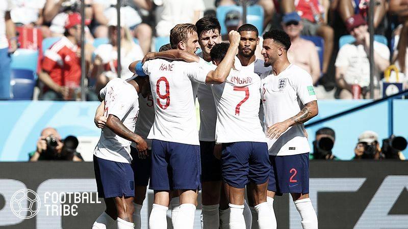 イングランドの攻撃力が爆発。今大会最多6ゴールでパナマを撃破