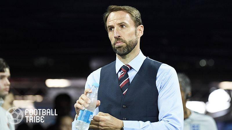 イングランド代表、サウスゲート監督と契約延長へ!ロシアW杯4強の実績