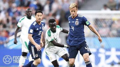 日本代表、乾と本田のゴールでセネガルに食らいつき勝ち点1をゲット