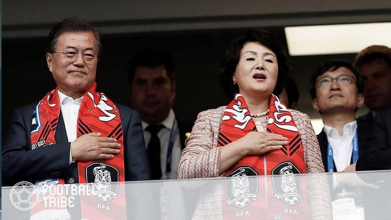 韓国大統領、FIFA会長と会談し30年W杯北朝鮮とのW杯共同開催が明らかに!