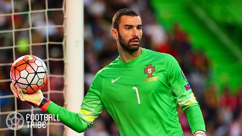 ローマ、ポルトガル代表GK獲得間近に!3年契約で個人合意