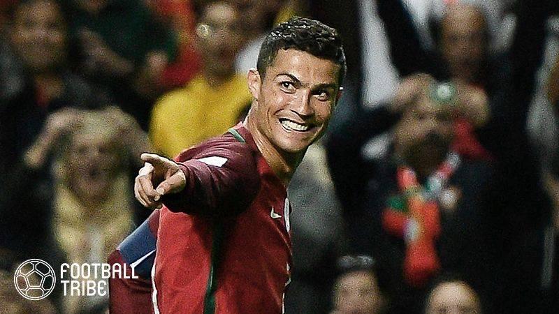 Cロナウド先発のポルトガル、ブラジルW杯16強アルジェリアを3発撃破