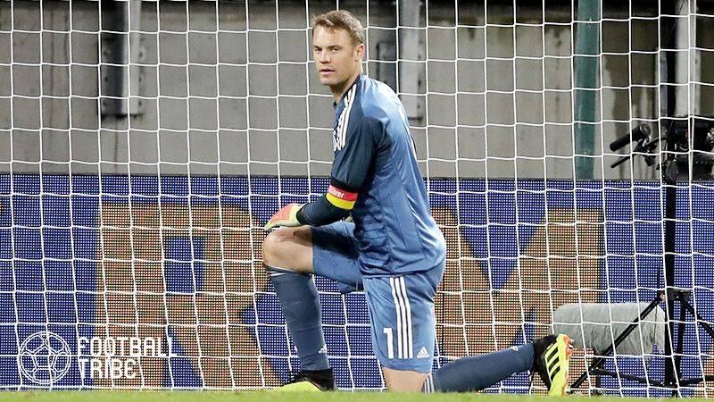 ドイツ、ノイアー復帰もオーストリアに後半2失点で逆転負け喫す