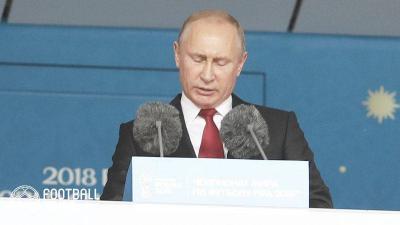 """ロシアのプーチン大統領、ロシア人女性に関する問題を""""火消し""""に"""