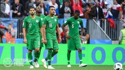 サウジアラビアの選手たちが乗った飛行機が発火。大事には至らず