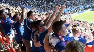 W杯初出場の小国アイスランド、アルゼンチン戦で人口の9%が現地観戦