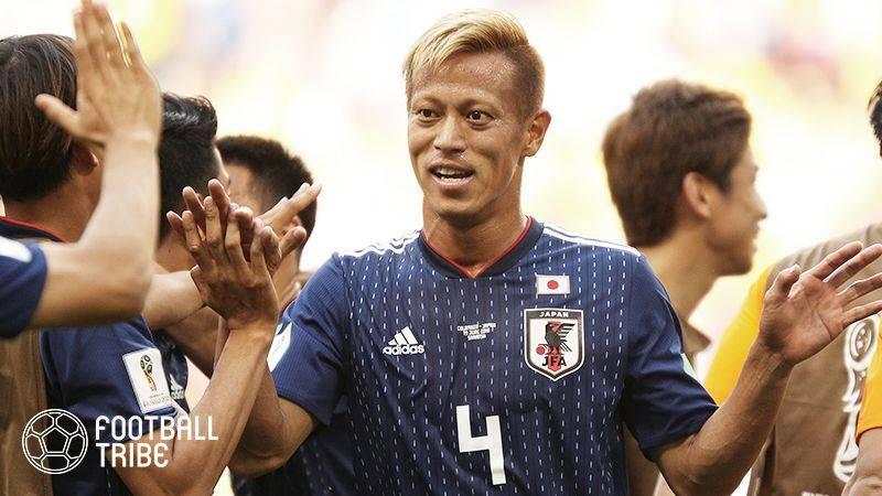 本田圭佑、SNSで移籍先決定を報告「8ヵ国目はポルトガルでプレーします」