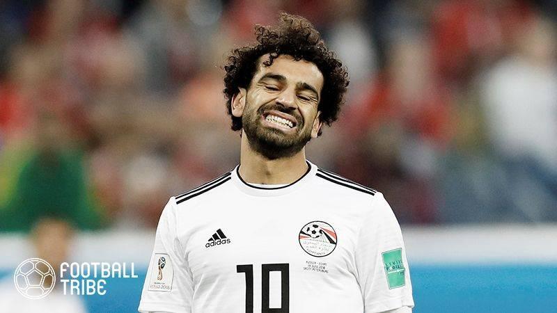 サラーとエジプトサッカー協会との問題がツイートで再燃