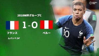 ペルー攻め続けるも1点遠く。フランスの決勝T進出決定