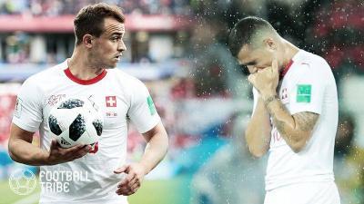 スイスに暗雲。主力選手2人に2試合出場停止処分か