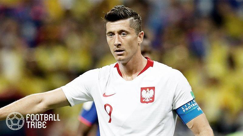 レバンドフスキ、副じん帯損傷でポーランド代表離脱…W杯欧州予選イングランド戦の欠場確定