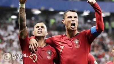 ポルトガル、堅守のイランと1-1ドロー。グループステージ2位通過!