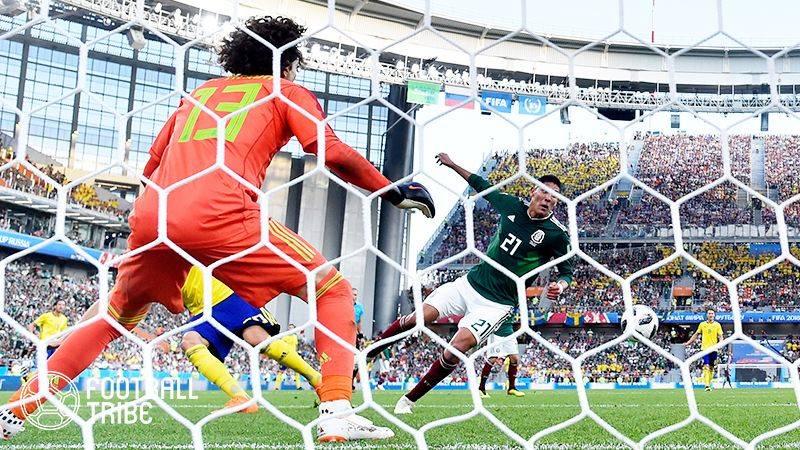 メキシコ、スウェーデン相手に3失点完敗。ドイツは敗戦濃厚両チームが決勝T進出か