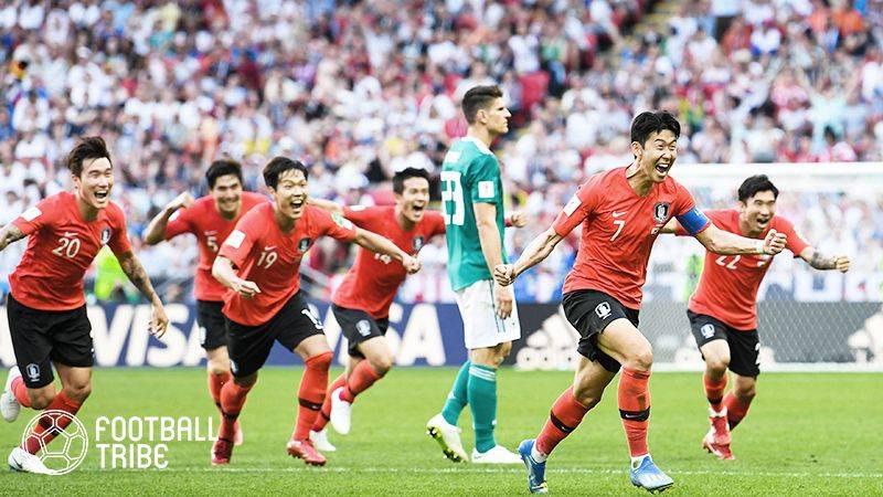 メキシコサポーター、韓国のドイツ撃破を受け韓国大使館でお祭り騒ぎ