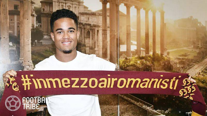 ローマ、アヤックスからクライファート息子の獲得を公式発表