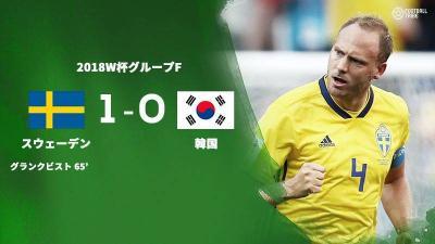 堅実な試合運びでスウェーデンが完封勝利。韓国はVARのPK判定に泣く