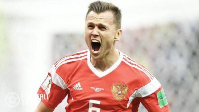 開催国ロシアが5-0大勝。開幕戦で貴重な勝ち点3奪取