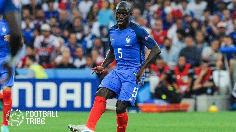 チェルシーMFカンテ、カタールW杯欧州予選で負傷。フランス代表から途中離脱へ