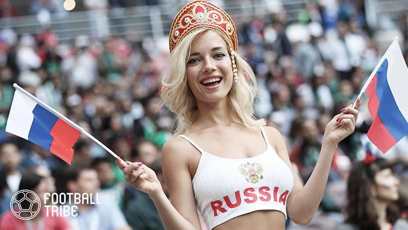 """開催国ロシアが負けたのは""""幸運の女神""""がいなかったから?"""