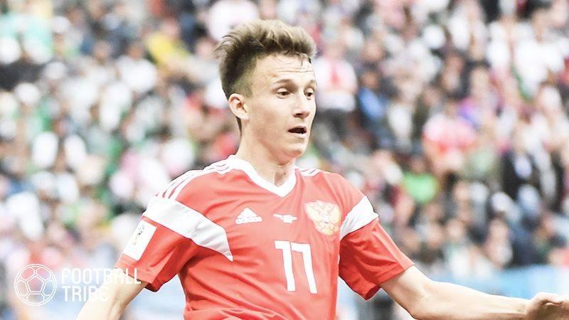 CSKAモスクワ会長、ロシア代表MFゴロビンのチェルシー移籍合意を否定
