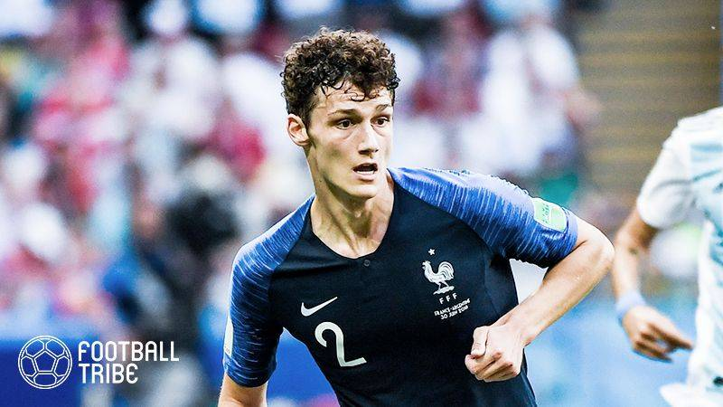 W杯アルゼンチン戦での豪快弾で一躍有名に。バルサがフランス代表DFに接触か
