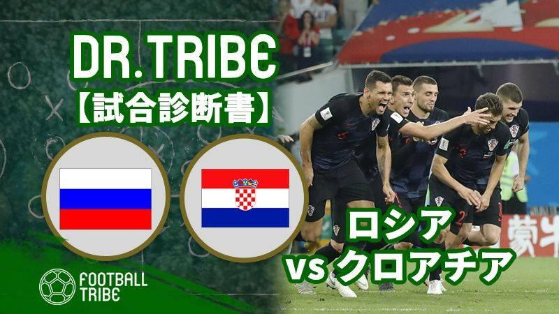 DR.TRIBE【試合診断書】ロシア対クロアチア W杯準々決勝