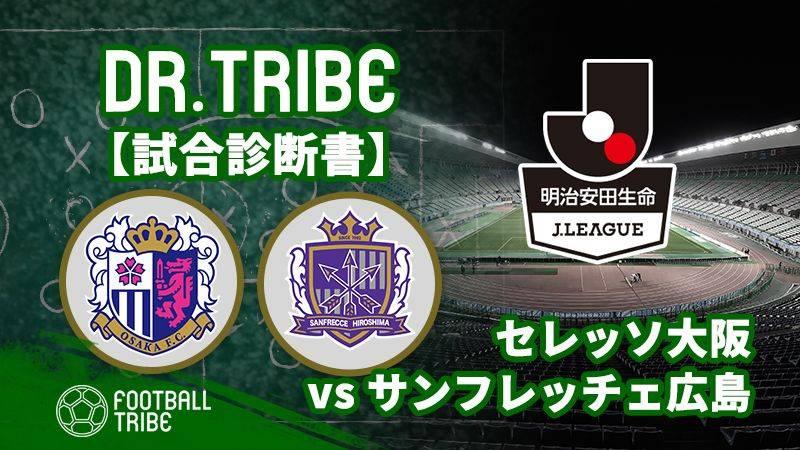 Dr.TRIBE【試合診断書】 Jリーグ第24節 セレッソ大阪対サンフレッチェ広島