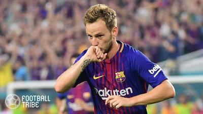 マンU、バルセロナに再度ラキティッチ獲得オファー?