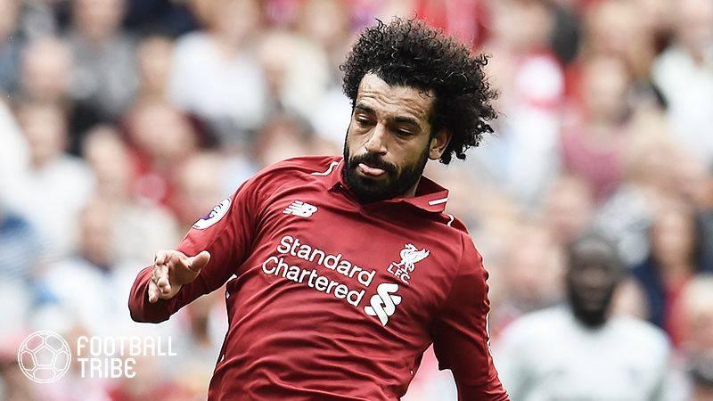 リバプールのサラー、エジプト代表戦で筋肉系トラブルも軽傷の可能性