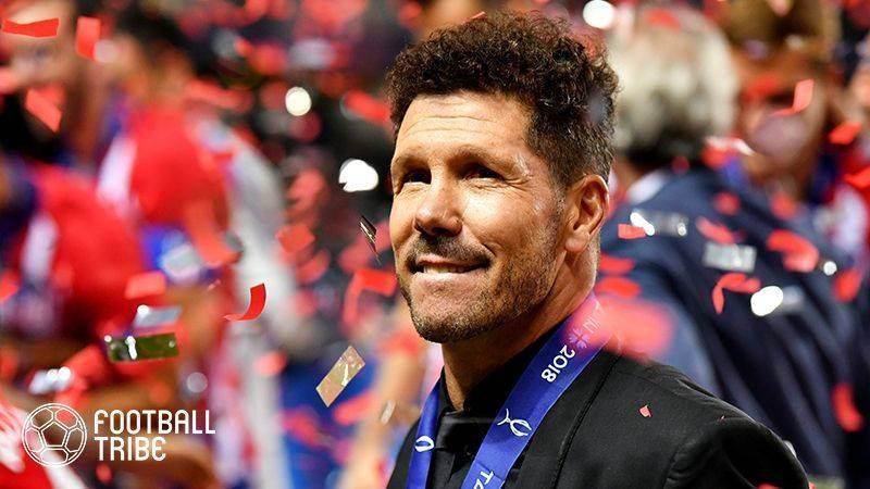 Simeone总监Atletico将合同延长至2022年!