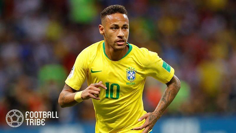 ネイマール、東京五輪オーバーエイジ枠で出場の可能性にブラジル代表監督「私の構想の一部」