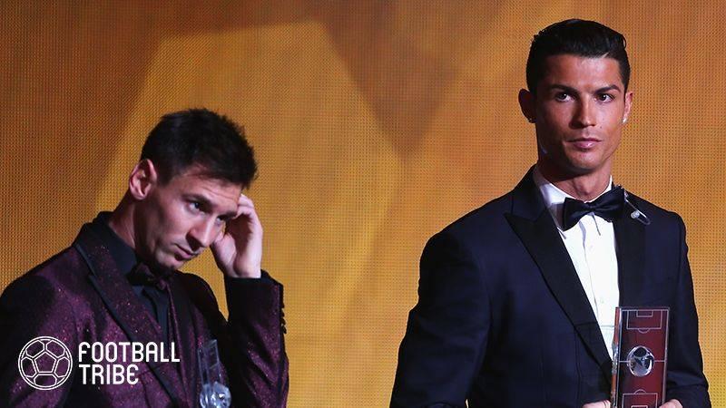 FIFA最優秀選手、メッシが初めてC・ロナウドに投票する!