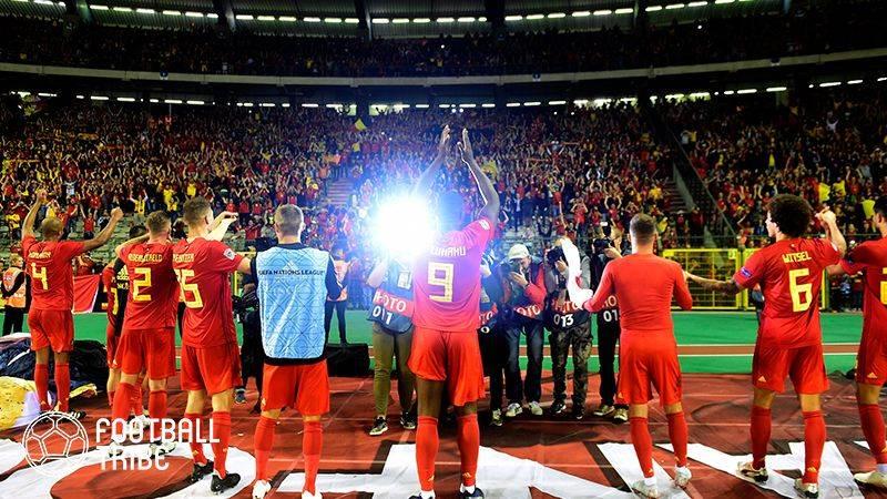 W杯3位のベルギーがスイスに競り勝つ。クロアチアはイングランドとドローに【UEFAネーションズリーグ結果一覧】