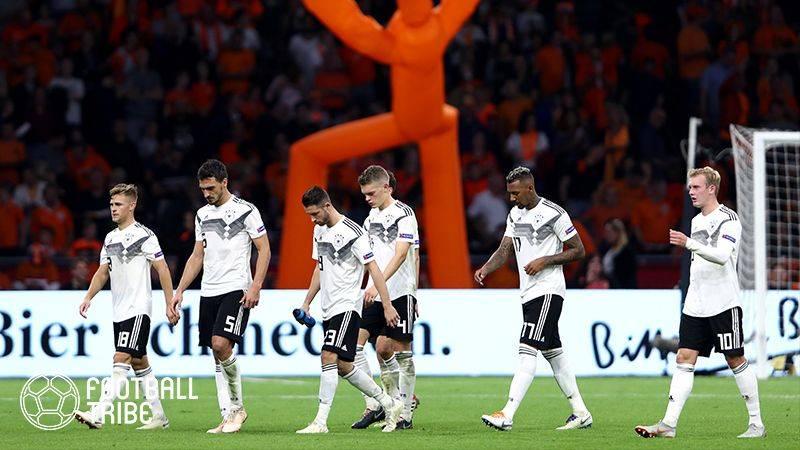 ドイツ代表、スペイン&イタリアと2020年初対戦決定!