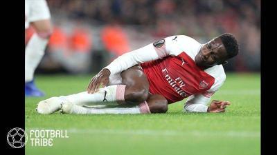 【動画】ウェルベック…試合中に右足を負傷し病院へ救急搬送…