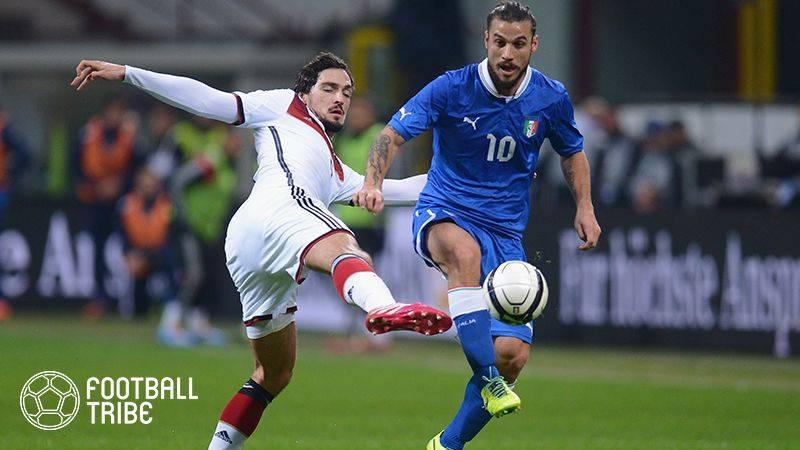 ロックスターを目指した元イタリア代表FWがサッカー界に復帰!?