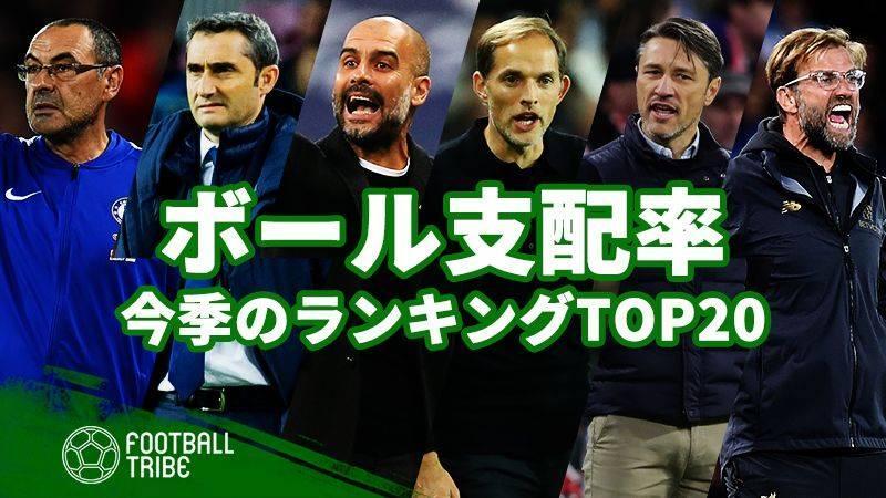 欧州5大リーグの成績ランキング!今季ボール支配率TOP20 | Football ...