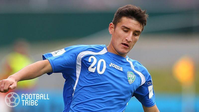 レノファ山口、ウズベキスタン代表DF獲得を発表。アジアカップで日本代表と対戦か