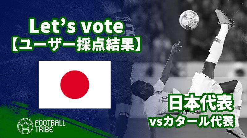 【ユーザー採点結果】アジアカップ決勝:カタール代表戦 日本代表選手の評価は?