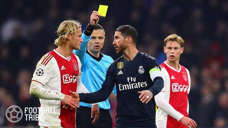 欧足联调查S.拉莫斯的故意警告......两场比赛暂停吗?