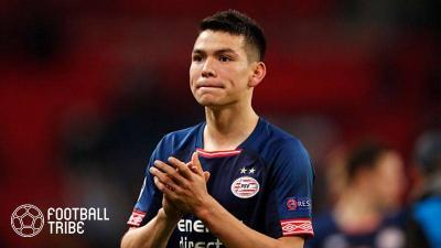 PSVメキシコ代表FWロサノ、今夏退団を示唆!「準備はできてる」