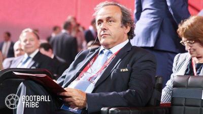 元UEFA会長プラティニ、汚職容疑で逮捕される
