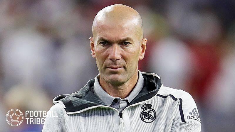 レアル監督ジダン、冬の移籍市場での獲得候補5選手をリストアップ?