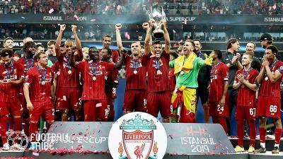 【動画】リバプール、UEFAスーパーカップ優勝後のロッカールームはこんな感じ!