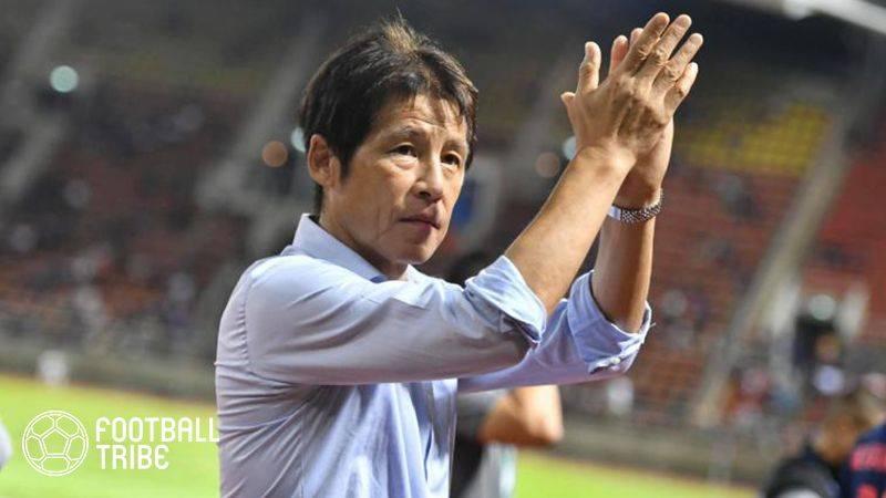タイサッカー協会、西野朗監督と2年間の契約延長に合意!今日公式発表へ