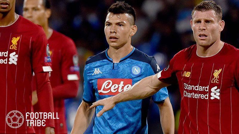 ナポリFWロサノの獲得に欧州3クラブが関心?