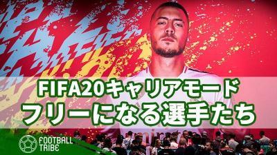 FIFA20、キャリアモードで見逃せないフリーになる選手とその給料