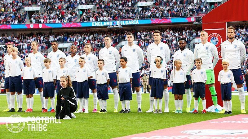 イングランド代表、カタールW杯予選のメンバー発表!サンチョは負傷で招集外に