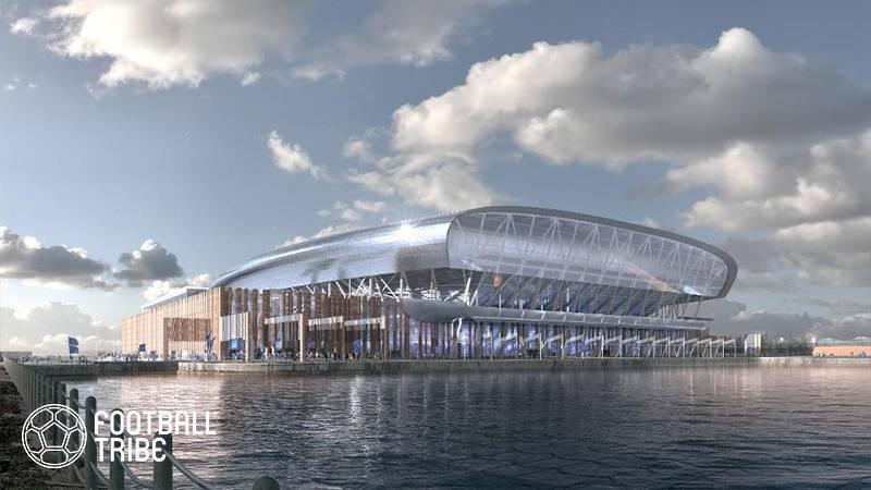 エバートン、新スタジアムの最終デザインを公開!